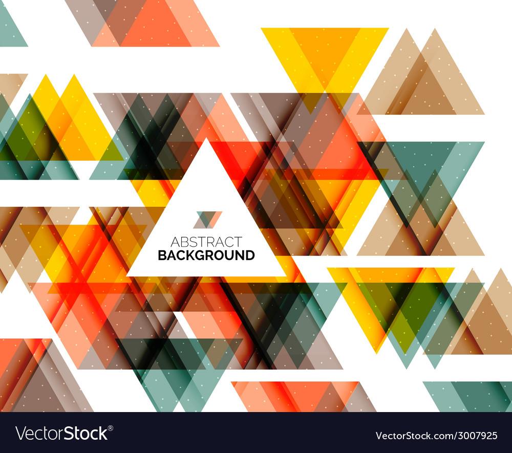 Triangle geometric concept vector   Price: 1 Credit (USD $1)