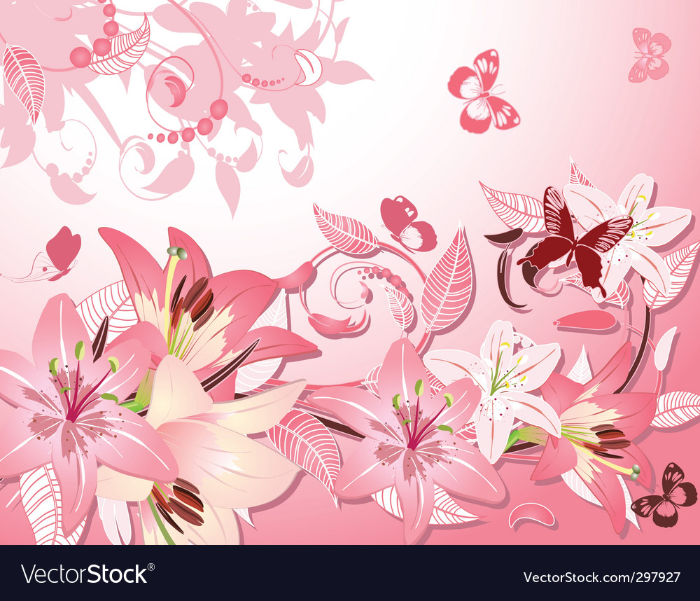 Flower fantasy vector | Price: 1 Credit (USD $1)