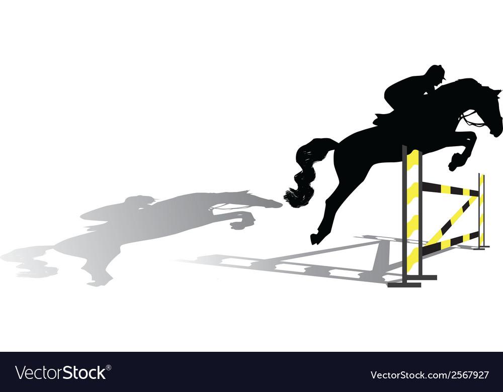 Jockey vector | Price: 1 Credit (USD $1)