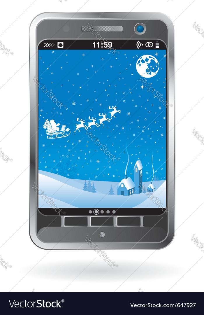 Mobile smartphone vector | Price: 3 Credit (USD $3)