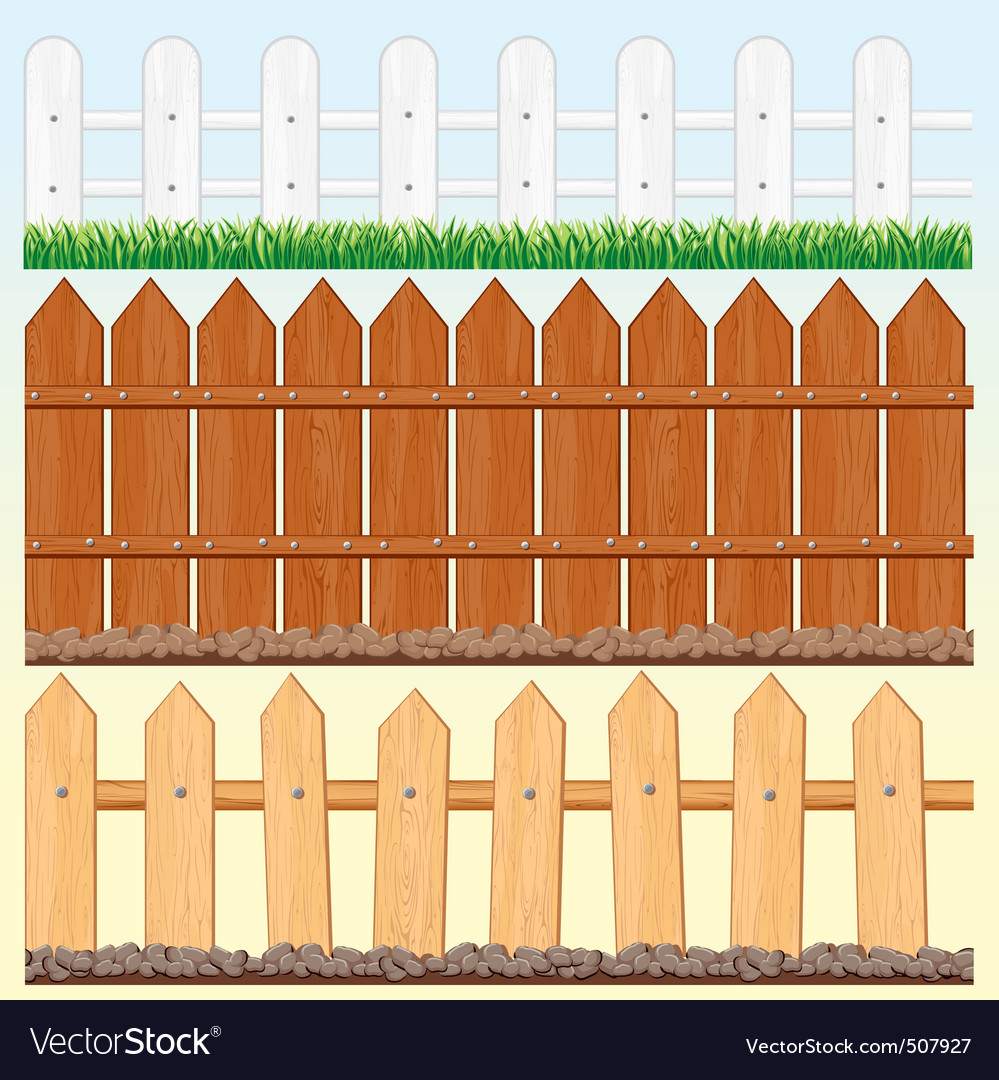 Seamless fences set vector | Price: 1 Credit (USD $1)