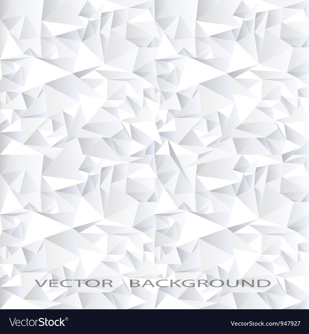 White crystal abstract background vector | Price: 1 Credit (USD $1)