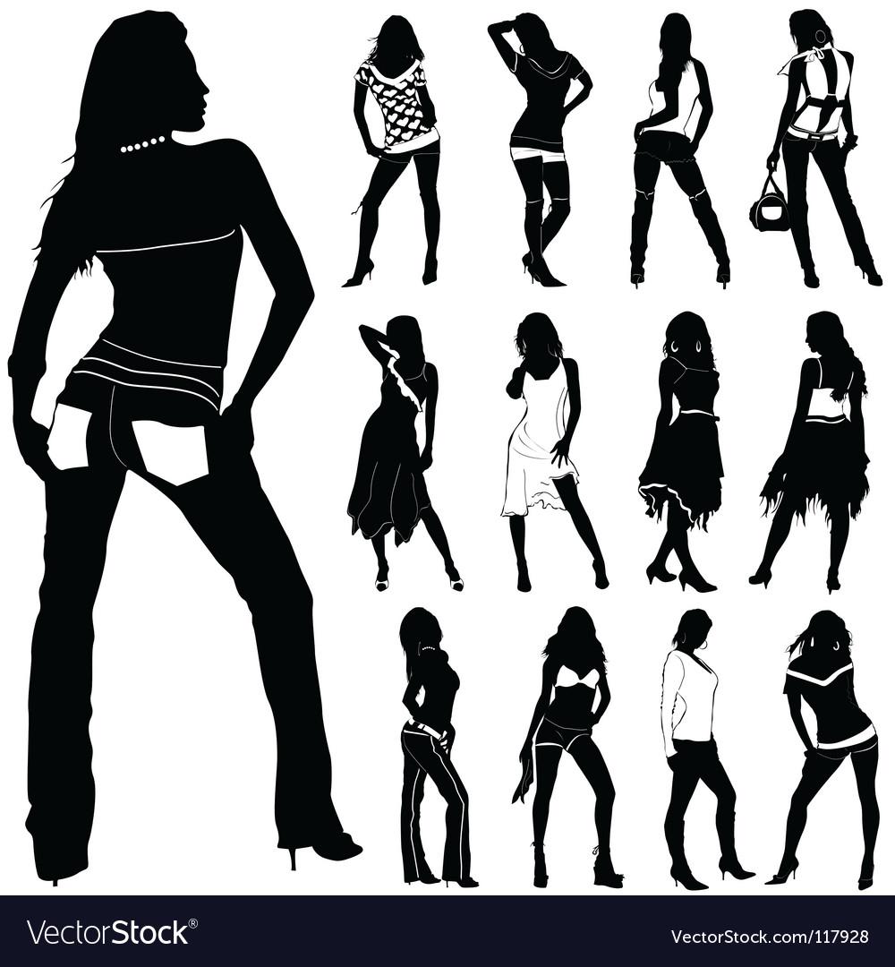 Fashion women vector   Price: 1 Credit (USD $1)