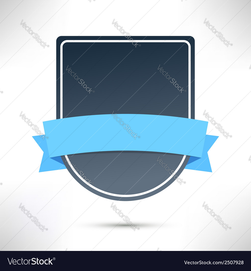 Flat modern badge sign template vector | Price: 1 Credit (USD $1)