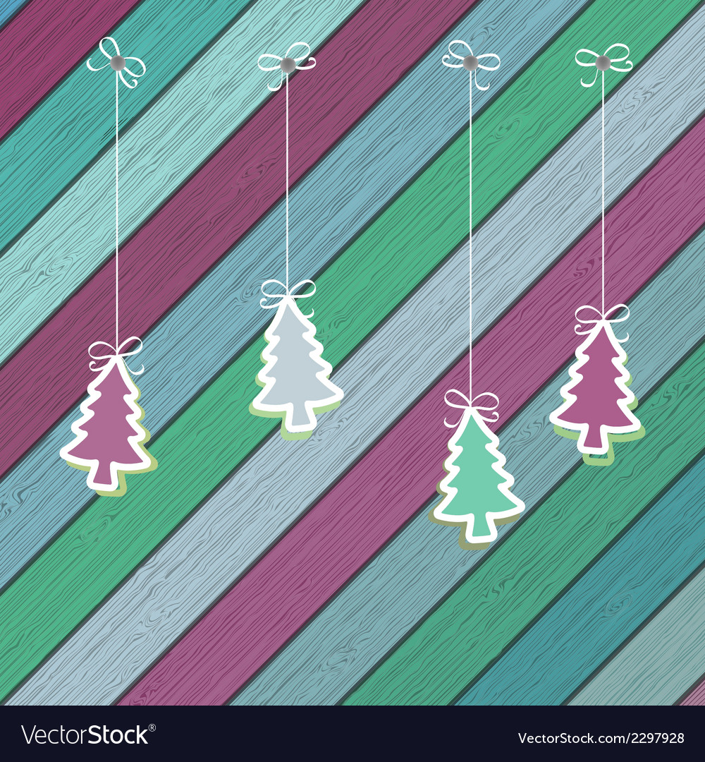 Gingerbread with christmas tree branches  eps8 vector | Price: 1 Credit (USD $1)