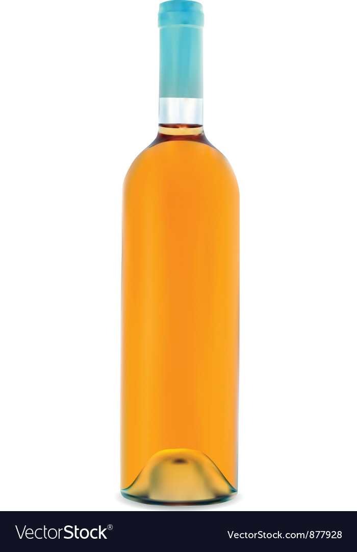 Glass bottle vector | Price: 1 Credit (USD $1)