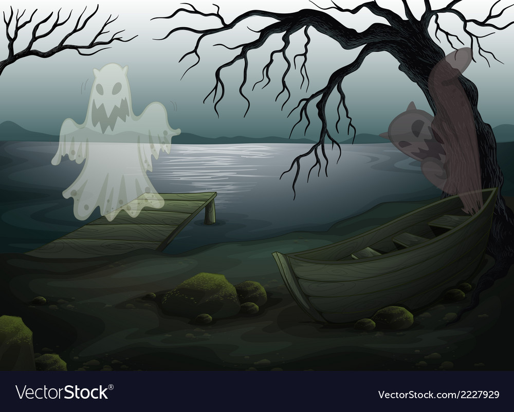 A spooky place vector | Price: 1 Credit (USD $1)