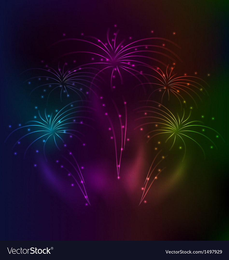 Awesome salute background with light effect vector | Price: 1 Credit (USD $1)
