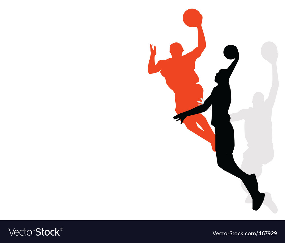 Slam dunk vector | Price: 1 Credit (USD $1)