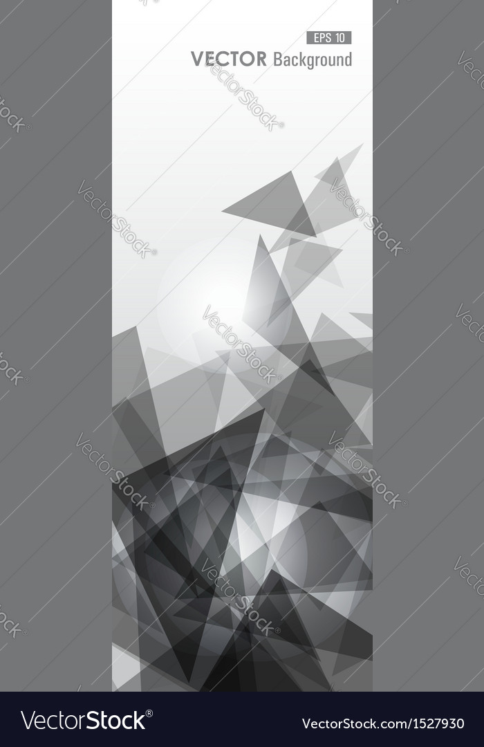 Grey geometric transparency vector | Price: 1 Credit (USD $1)