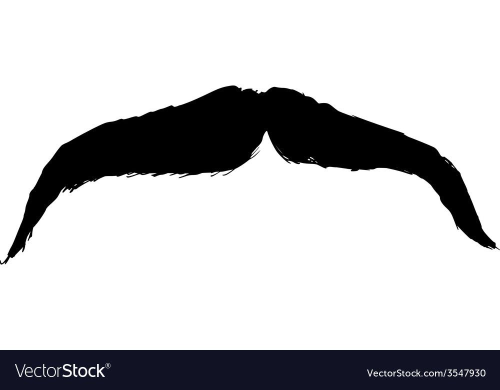 Moustache vector | Price: 1 Credit (USD $1)