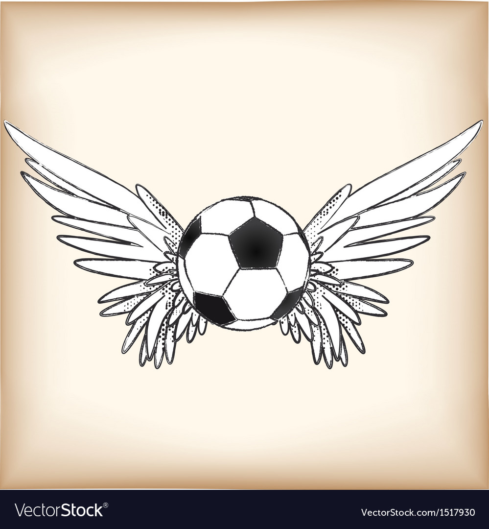 Soccerangel vector | Price: 1 Credit (USD $1)