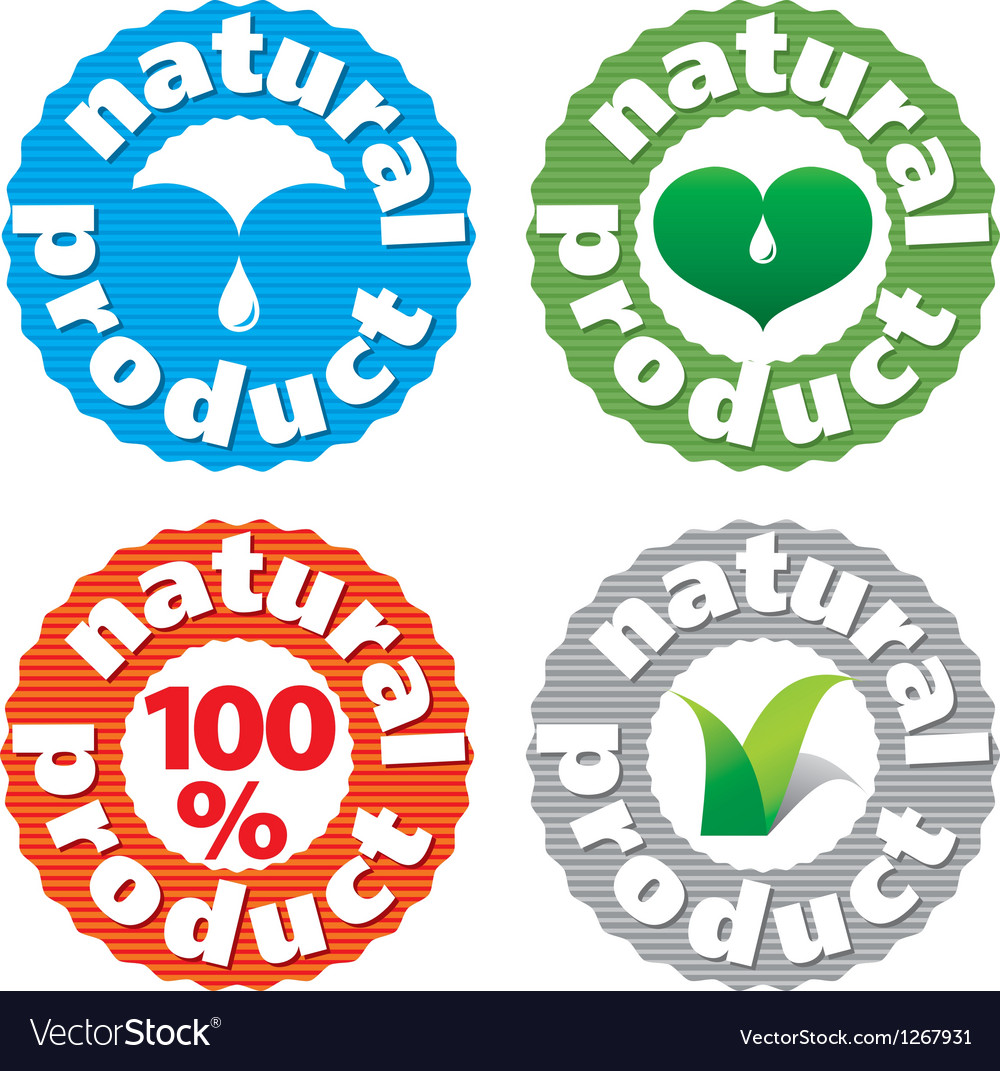 Sign natures product vector | Price: 1 Credit (USD $1)