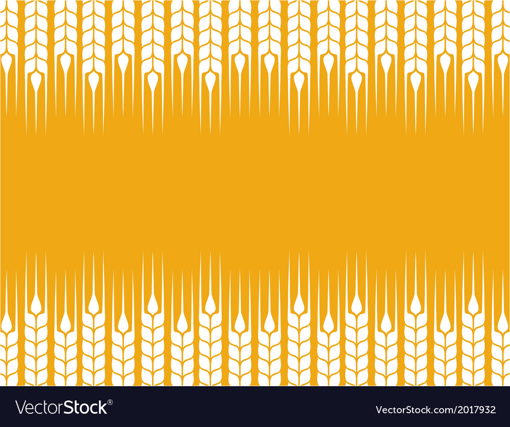 Background with wheat ears vector | Price: 1 Credit (USD $1)