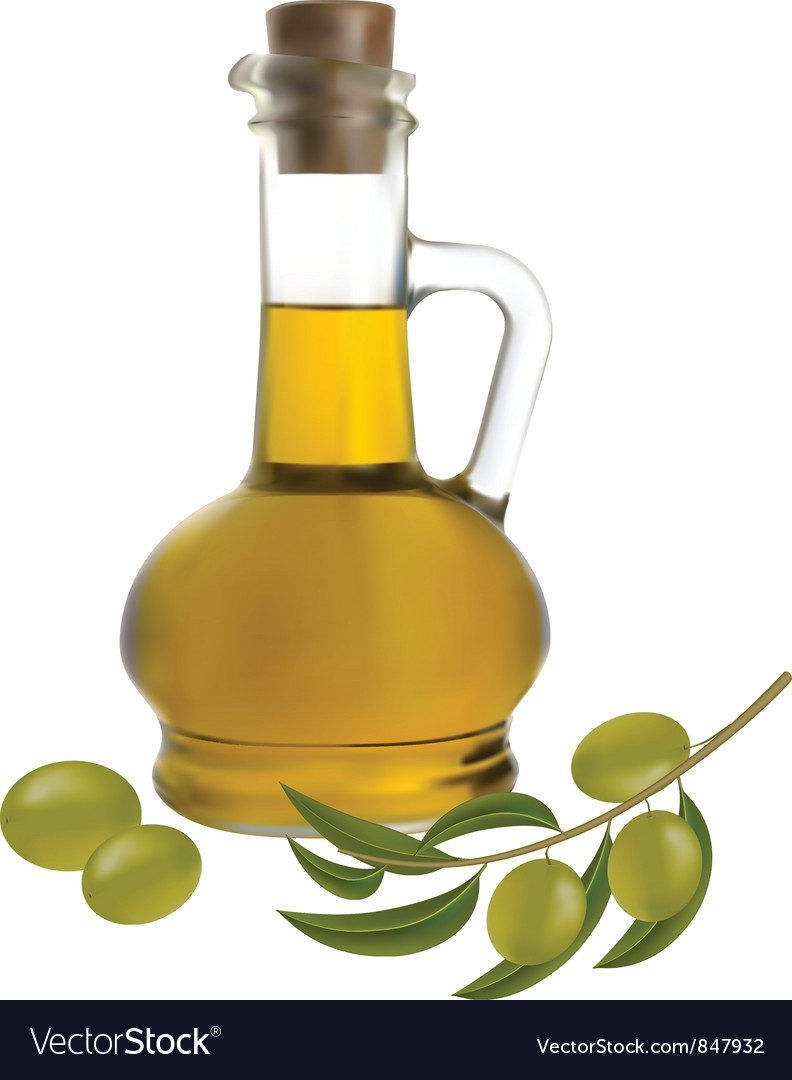 Bottle of olive oil vector | Price: 3 Credit (USD $3)