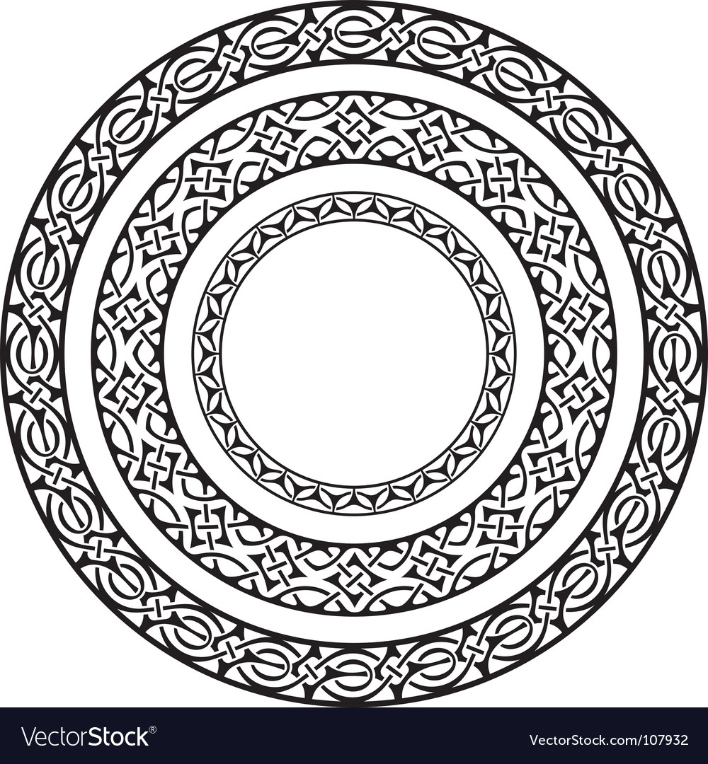 Circle frames vector | Price: 1 Credit (USD $1)