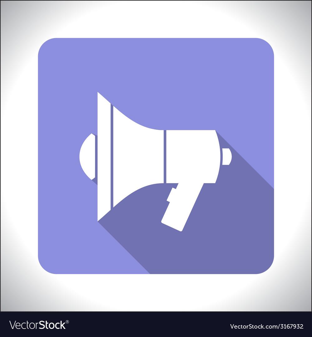 Mouthpiece icon vector | Price: 1 Credit (USD $1)