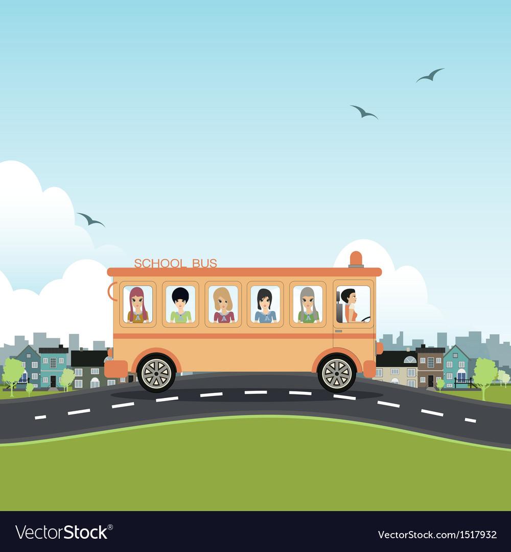 School bus vector   Price: 3 Credit (USD $3)