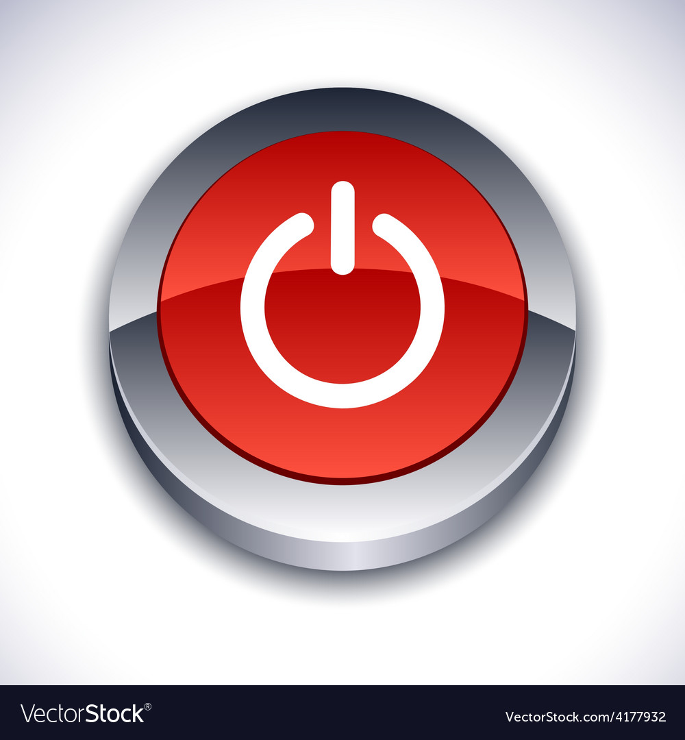 Switch 3d button vector | Price: 1 Credit (USD $1)