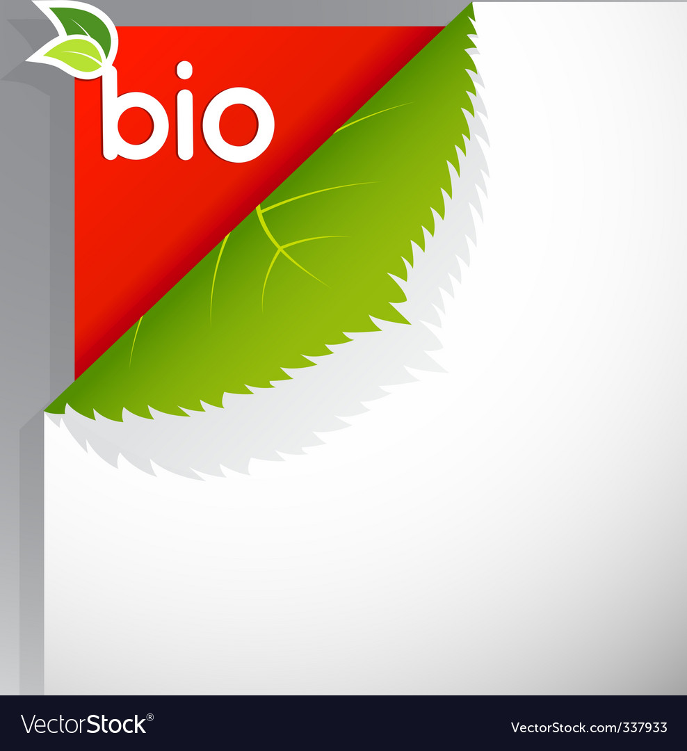 Bio poster vector | Price: 1 Credit (USD $1)