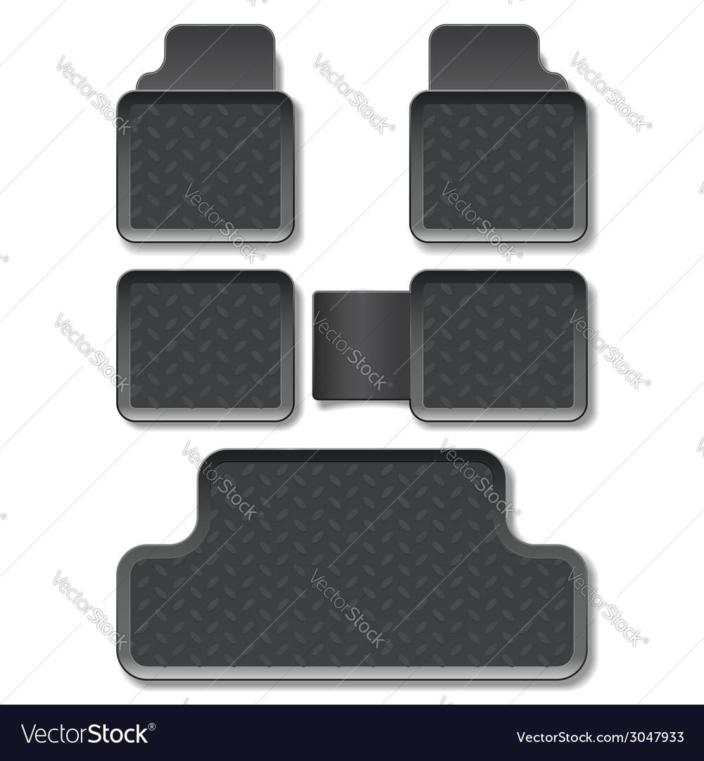 Car mats vector | Price: 1 Credit (USD $1)