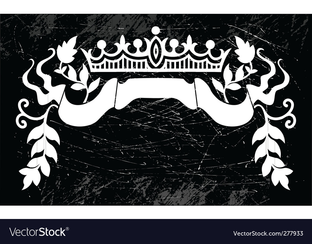 Royal sign vector | Price: 1 Credit (USD $1)