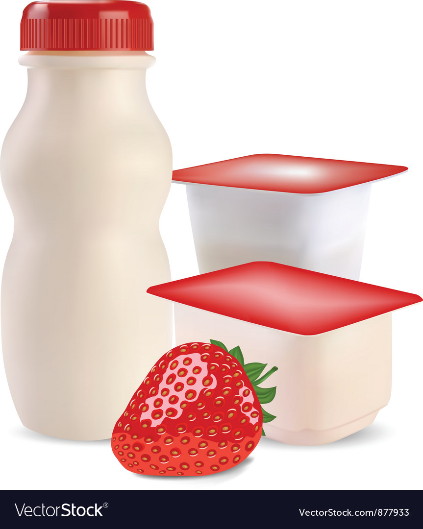 Strawberry products vector | Price: 3 Credit (USD $3)