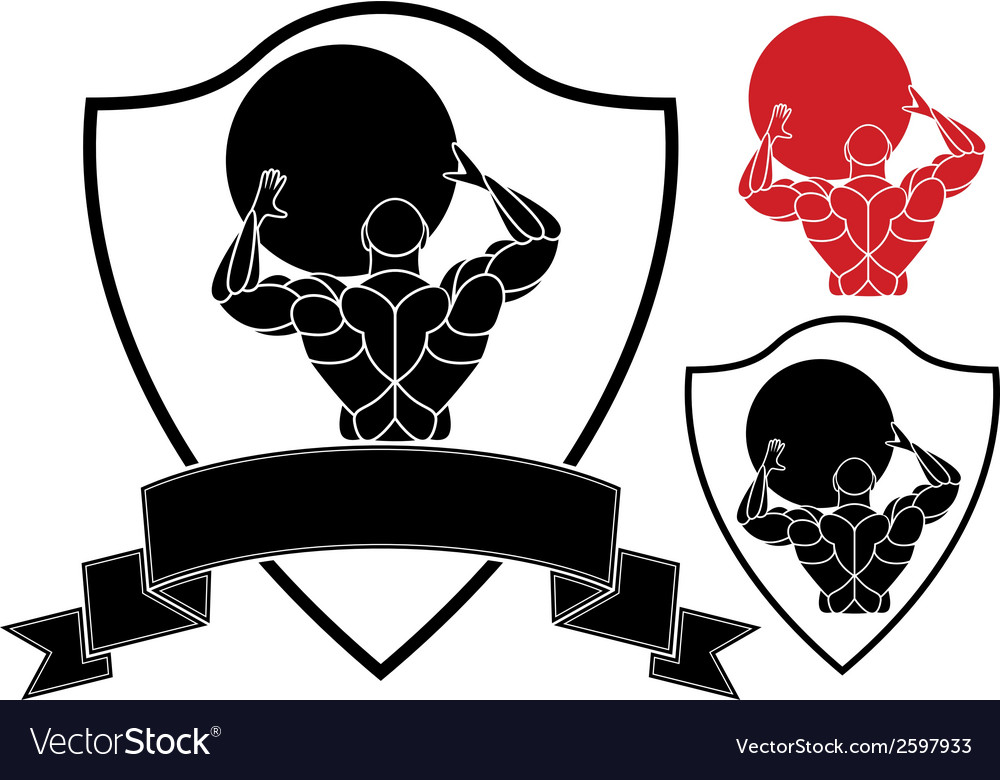 Strongmen vector | Price: 1 Credit (USD $1)