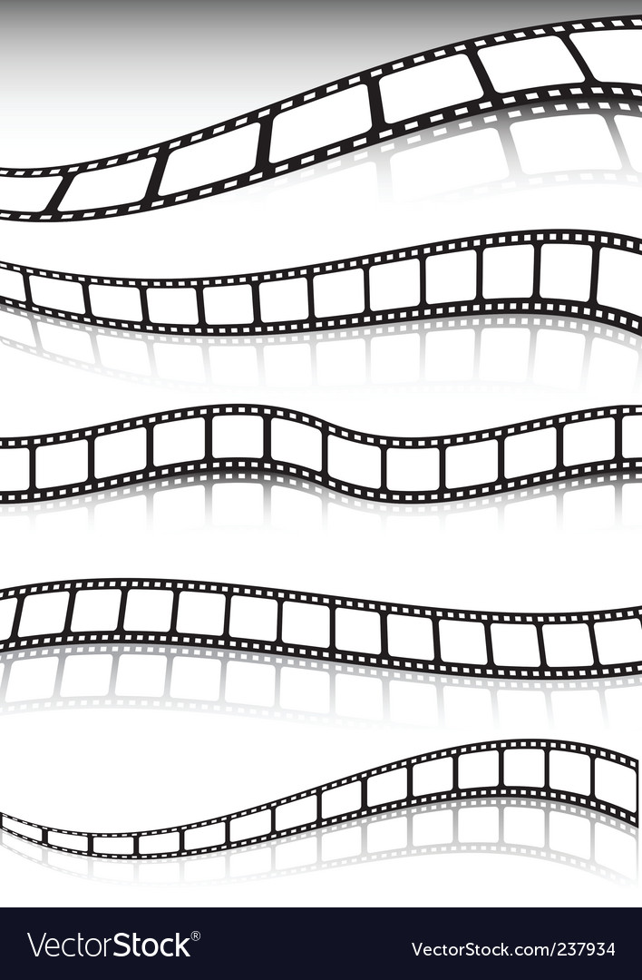 Film strip background vector | Price: 1 Credit (USD $1)