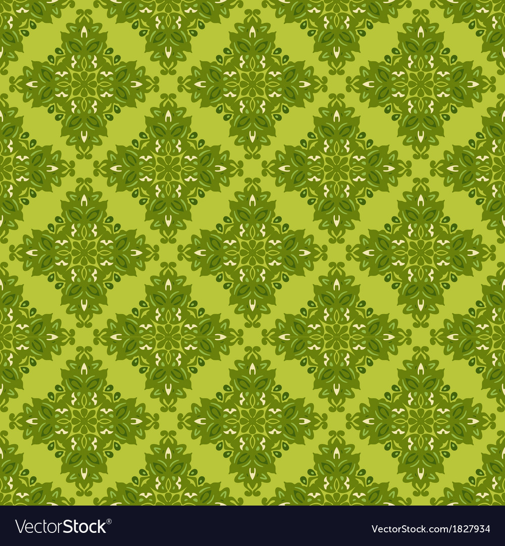 Green seamless background gift wrap vector | Price: 1 Credit (USD $1)