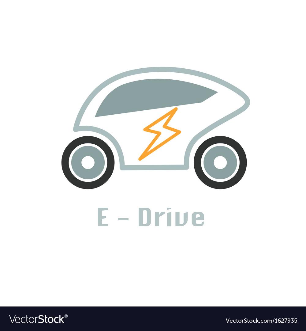 Eco car icon design concept vector   Price: 1 Credit (USD $1)