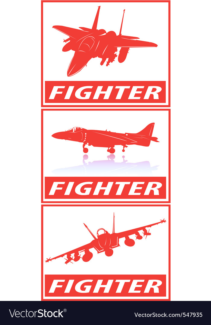Fighter planes vector | Price: 1 Credit (USD $1)