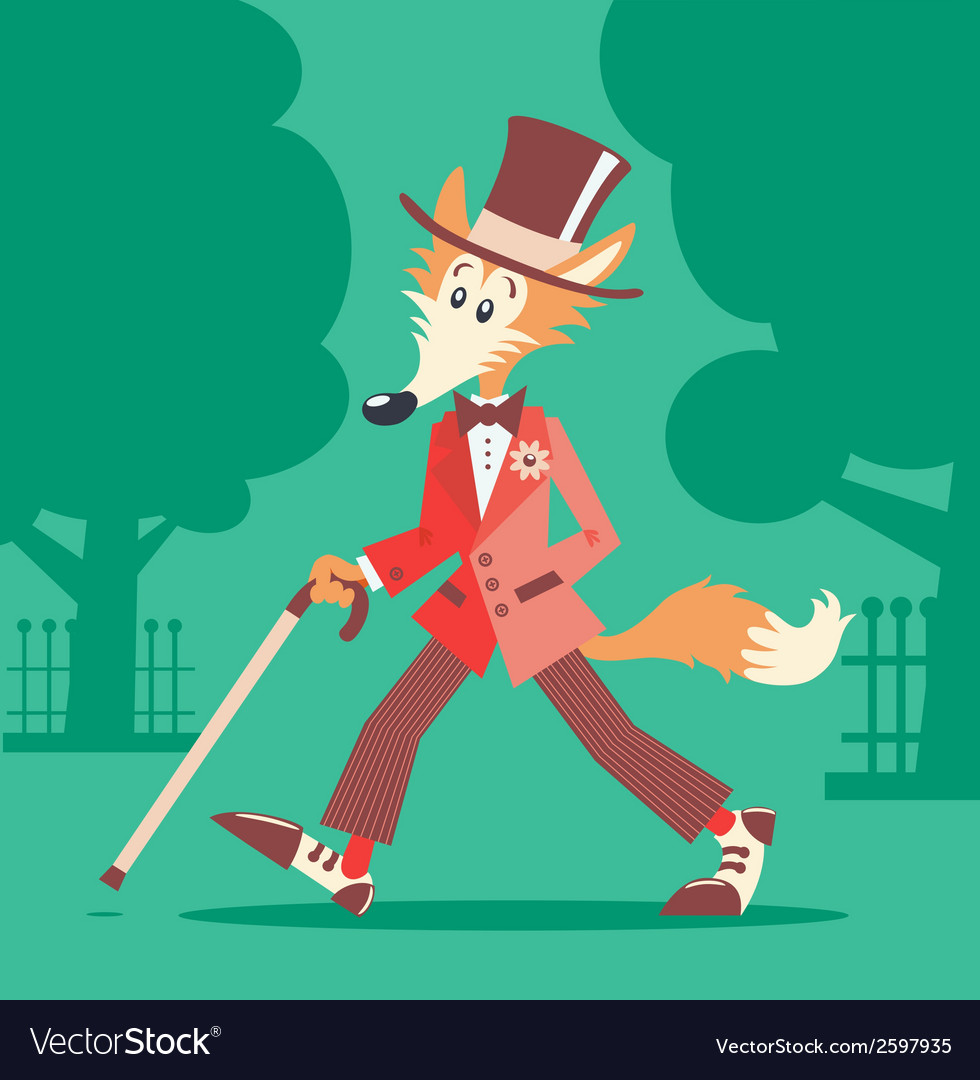 Mr fox vector | Price: 1 Credit (USD $1)