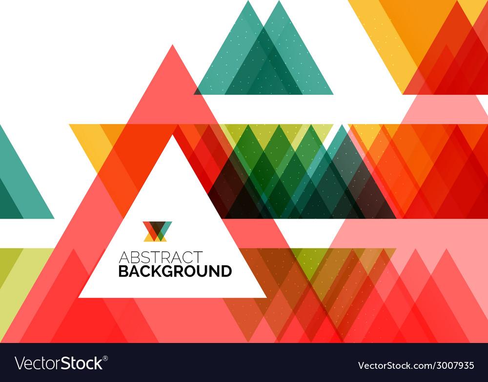 Triangle geometric concept vector | Price: 1 Credit (USD $1)