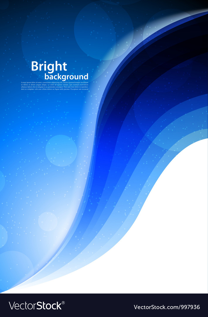 Bright blue background vector | Price: 1 Credit (USD $1)