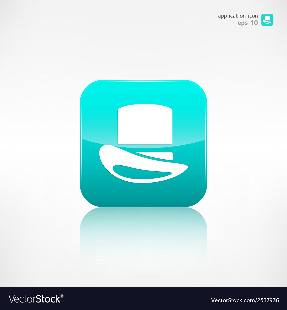 Cylinder hat icon vector | Price: 1 Credit (USD $1)