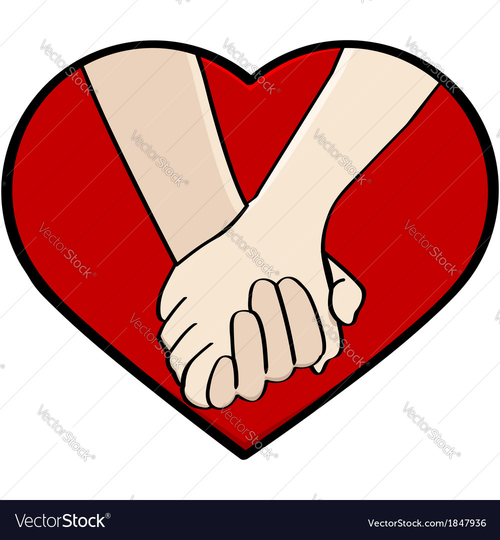 Holding hands vector | Price: 1 Credit (USD $1)