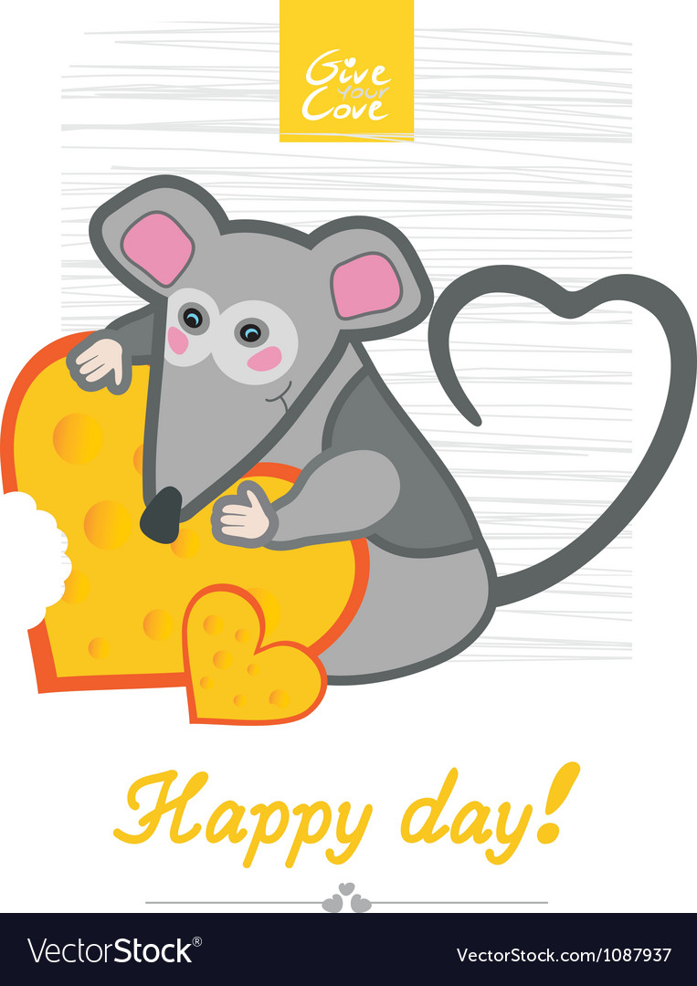 Day mouse vector | Price: 1 Credit (USD $1)