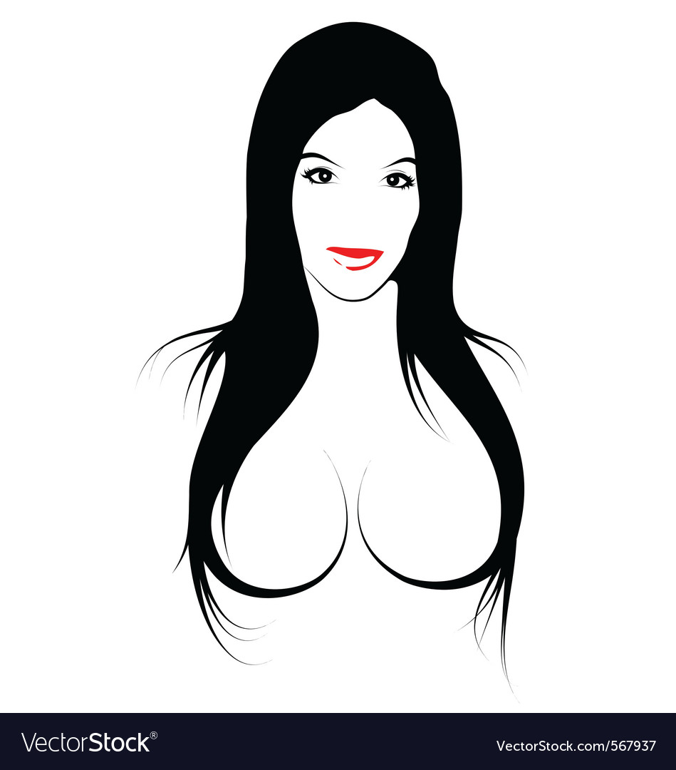 Erotic girl vector | Price: 1 Credit (USD $1)