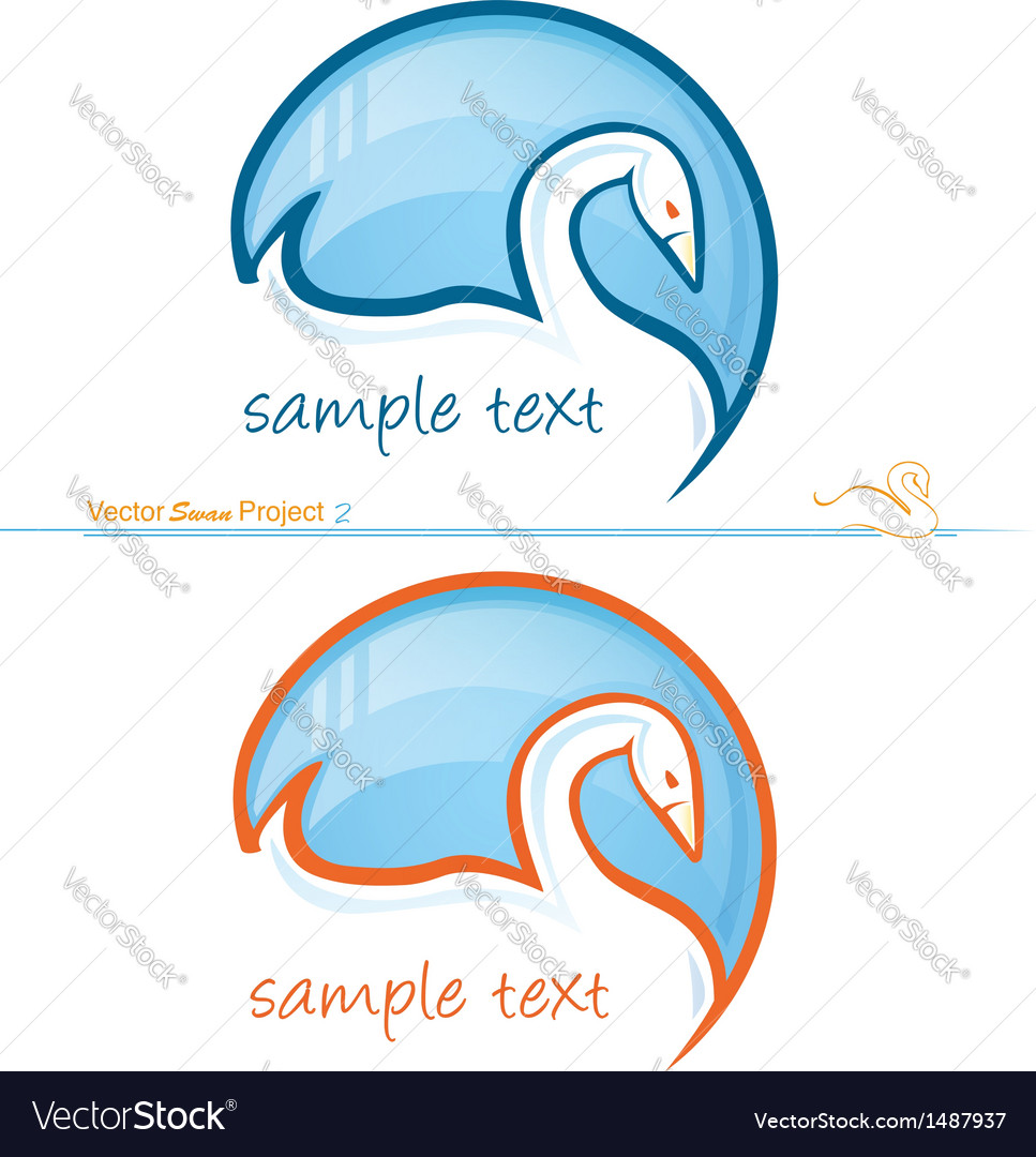 Swan project 2 vector | Price: 1 Credit (USD $1)