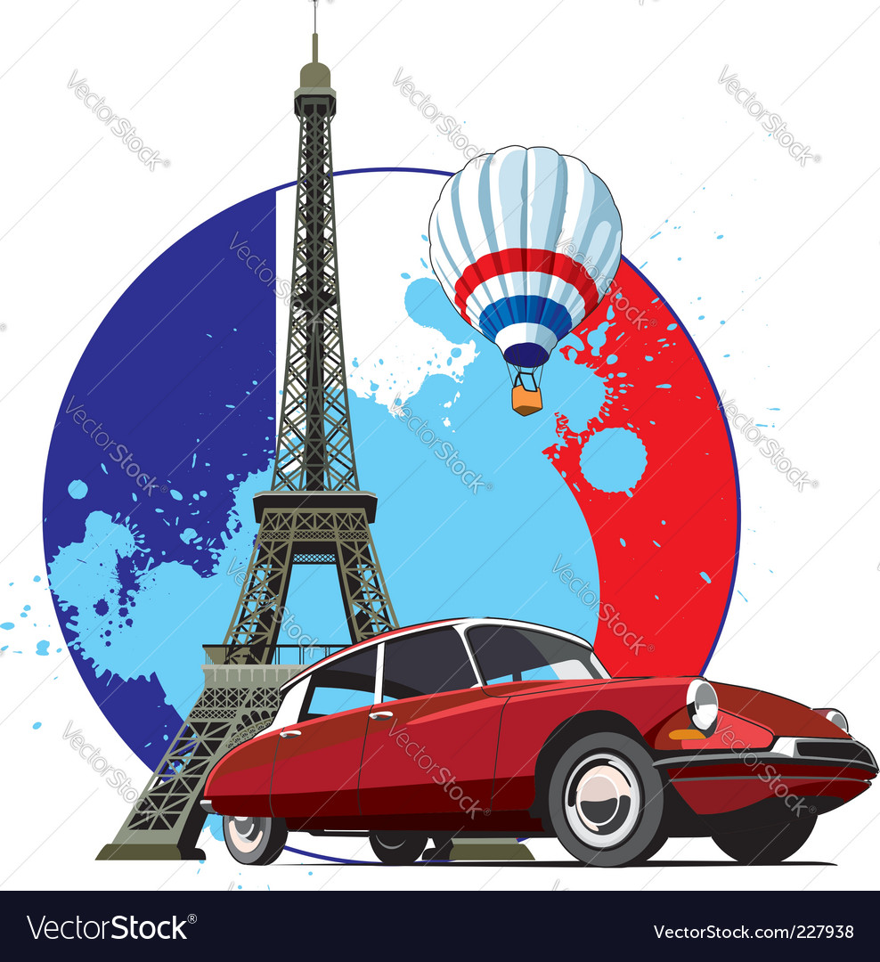 French style vector | Price: 3 Credit (USD $3)