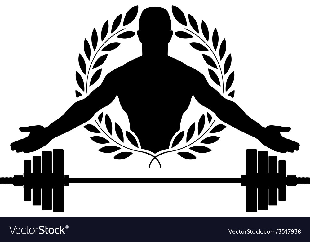 Glory of bodybuilding vector | Price: 1 Credit (USD $1)