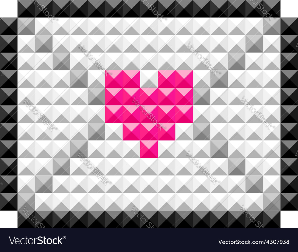 Icon lovemail vector | Price: 1 Credit (USD $1)