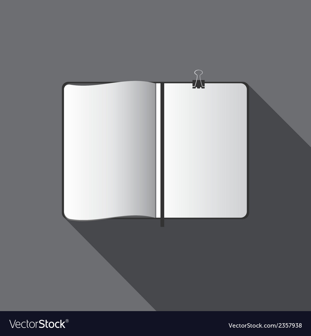 White blank template vector | Price: 1 Credit (USD $1)