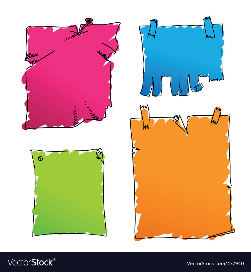 Coloured tags vector | Price: 1 Credit (USD $1)