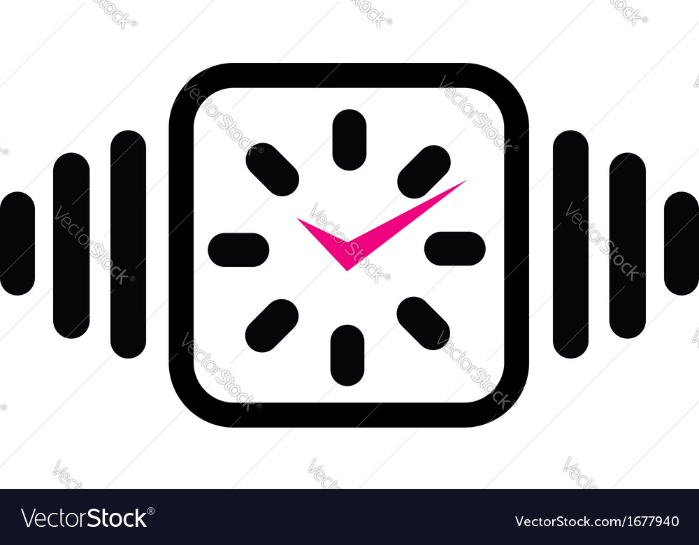 Wall clock business logo vector   Price: 1 Credit (USD $1)