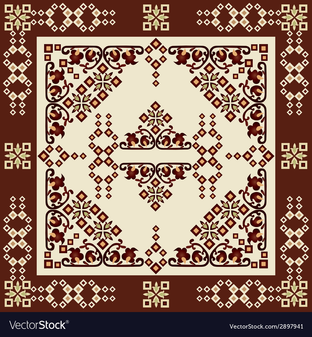 Oriental style seamless pattern seventeen vector | Price: 1 Credit (USD $1)