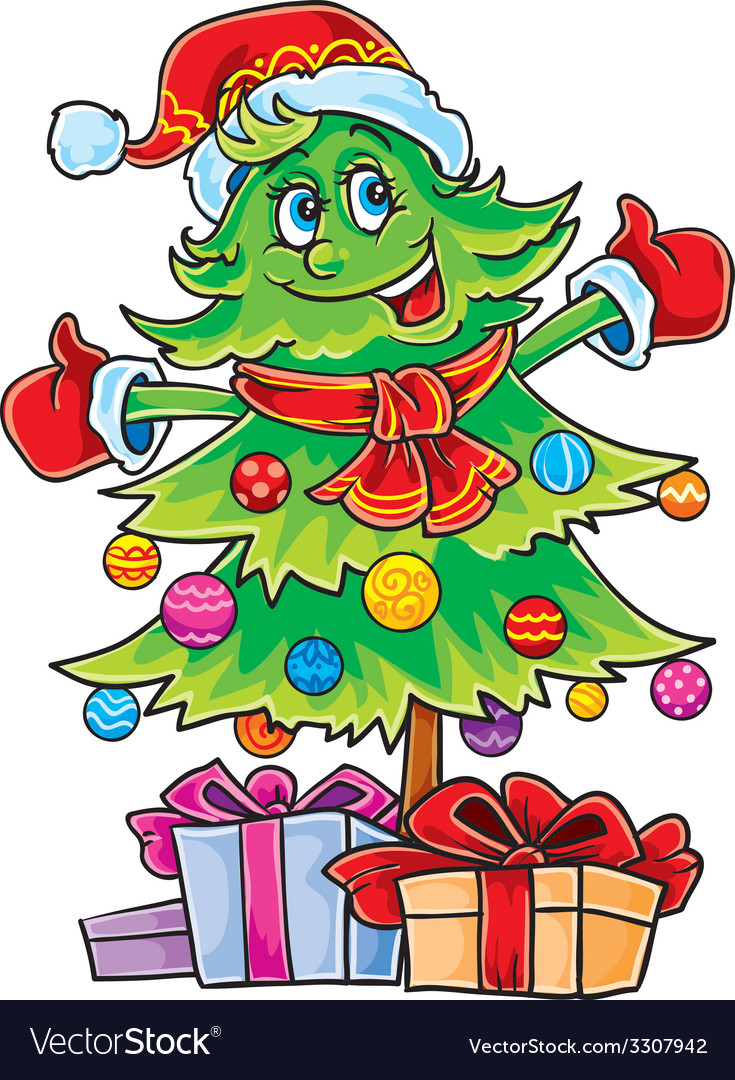 Christmas fir vector | Price: 3 Credit (USD $3)
