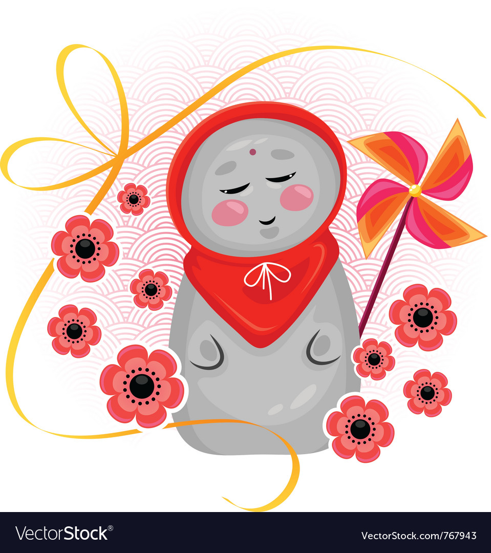 Jizo vector | Price: 1 Credit (USD $1)