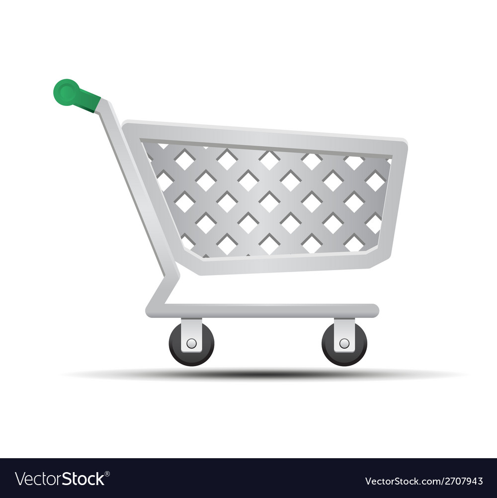 Shopping cart stock vector | Price: 1 Credit (USD $1)